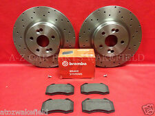 For Renault Megane 2.0 Sport 225 230 F1 Front Genuine OE Brembo Brake Discs Pads