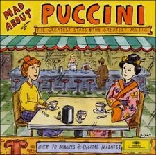 Mad About Puccini (CD, Nov-1993, DG Deutsche Grammophon)  Minty CD