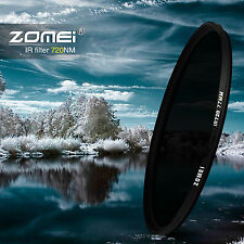 ZOMEI 58mm IR INFRARED FILTER 720nm 72IR for Sony Canon Nikon Pentax Hoya lens