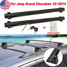 For 2011-2014 Jeep Grand Cherokee Removable Roof Rack Cross Rails Bars Carries