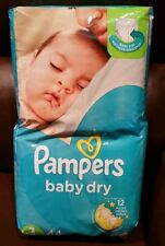 Pampers Baby Dry Diapers, Size 1 (8‑14 lbs) ‑ 44 count