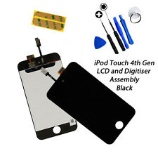 NEW BLACK LCD Display + Digitiser Assembly FREE Tools FOR iPod Touch 4G 4th Gen