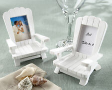 4 Mini Adirondack Beach Chair Wedding Place Card Photo Frames Favors Decorations