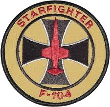 Aufnäher Patch Luftwaffe / Marine F-104 Starfighter .........A2300