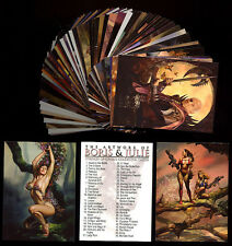 BORIS VALLEJO 8 - JULIE BELL - Strokes of Genius - 72 Card Set - FREE US Shippin