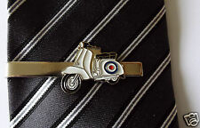 Stylish MOD Roundel Lambretta Scooter Tie Pin