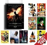 A3 A4 SIZE OPTIONS: IMDB TOP 50-100 MOVIE POSTER Print Film Cinema Wall Room Art