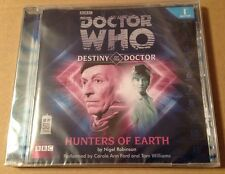 Doctor Who - Hunters Of Earth Audio Book Cd Carole Ann Ford Tom Williams SEALED!
