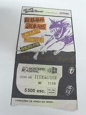 THE ROLLING STONES - Alvalade Stadium, Lisbon 10/Jun/90 - Used Ticket stub