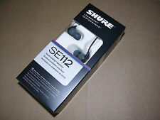 Shure SE112 GR Sound Isolating Earphones Headphones Earbuds Grey