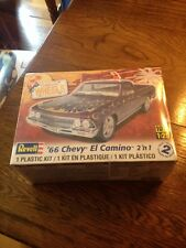 Revell '66 Chevy El Camino 2'n 1 Cal Wheels Model Kit 1/25 scale 85-2045 SEALED