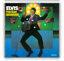 ELVIS PRESLEY THE SUN SESSIONS 1976 LP COVER FRIDGE MAGNET IMAN NEVERA