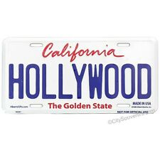 Hollywood License Plate Souvenir from Online Gift Store