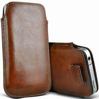 New Brown PU leather Pouch Case Cover For Iphone 3g 3gs