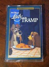 Walt Disney Lady and the Tramp Cassette Tape Movie Soundtrack, Vintage 1997