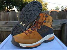 Men's Under Armour UA ATV Gore-Tex Hiking Boots Brown Suede Size 12 1268866 855