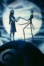 The Nightmare Before Christmas Fabric Art Cloth Poster 20inch x 13inch Decor 02