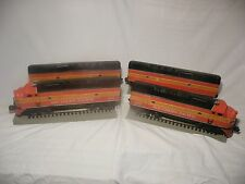 lionel 2343 Southern Pacific SCALE TMCC F3 DIESEL A-B-B-A