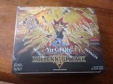 Yu-Gi-Oh Millennium 1st Edition 10 booster Packs MIL1 50 cards New & Sealed