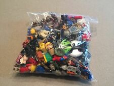 8 Ounces of Non Lego Minifig Parts and Accessories Megablok Heroes TMNT I379
