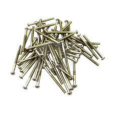 30Pcs Chrome 3x36mm Humbucker Pickup Mounting Screws For Tele TL Guitar Bridge