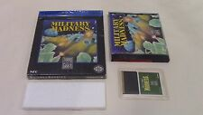 Military Madness TurboGrafx-16 TG16 Game Complete in Box CIB Tested