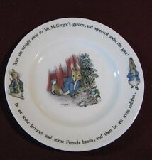 """Wedgwood of Etruria-Peter Rabbit 8"""" Salad Size Plate"""