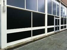 """60"""" X 25  FT ROLL BLACKOUT FILM PRIVACY FOR OFFICE,BATH,GLASS DOORS,STOREFRONTS"""