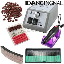 Professional Manicure Pedicure Electric Drill File Nail Art Pen Machine Kit Set