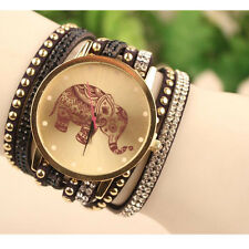 Velvet Diamond Bracelet Watch Ladies Watches High Elephant Pattern Hot Sale