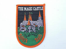 VINTAGE MAGIC CASTLE NOBBY'S BEACH EMBROIDERED SOUVENIR PATCH WOVEN CLOTH BADGE