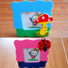Cartoon Wooden Toy Mini Cartoon Small Photo Frame Baby Gift Picture Show Window