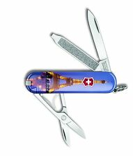 Victorinox Swiss Army Key Chain Knife Classic Ltd Ed - Eiffel Tower - Free Ship