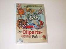 DAS CLIPARTS-PAKET ( PC-CD ROM )