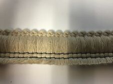 Sunbrella outdoor Trim 1.5 inch Antique Beige Fringe (5 Yards)