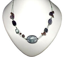 "Very nice Fluorite Elegance Necklace 19"" Long"