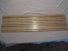 10 Meter Yardstick Wood Wooden Ruler Lot Advertising Sign Color Art Craft