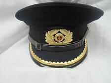 Schirmmütze Marine Uniformen Kapitän  Ostalgie Fasching Grösse 53 sehr klein !!!