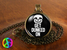 Undertale Sans Get Dunked On Game Gamer Gaming Necklace Pendant Jewelry Art Gift