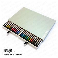 BRUYNZEEL DESIGN-alta qualità e durevole-MATITE PASTELLO-scatola artista di 24