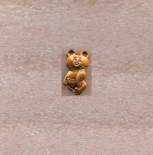MOSCOW 1980 SUMMER OLYMPIC GAMES OFFICIAL PIN MISHA BEAR MASCOT #2
