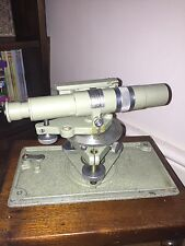 Superb Vintage Precision 1950s/60s engineer's Level theodolite MDS London Cased