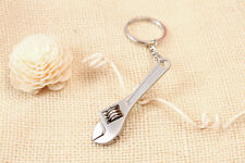 Keychain Cute Mini Wrench Spanner Creative Useful Tool Keyring Metal Solid Chain