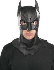 HALLOWEEN ADULT BATMAN BEGINS FULL  LATEX MASK  PROP DC COMICS