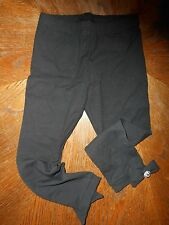 Gymboree NWT Girl Size 5 Black Legging with Bow button at ankle