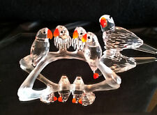 Swarovski Baby Lovebirds or Parrot, both Retired