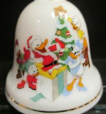 Disney Donald Daisy Duck Bell Grolier Huey Dewey Louie Christmas Ornament No 6
