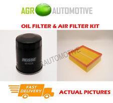 PETROL SERVICE KIT OIL AIR FILTER FOR RENAULT LAGUNA 2.0 140 BHP 2007-