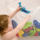 1X Baby Kids Bath Toy Tidy Bag Net Mesh Storage Suction Bathroom Stuff Organiser