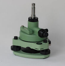 NEW LEICA GREEN TRIBRACH & ADAPTER W/OPTICAL PLUMMET FITS LEICA TYPE PRISMS